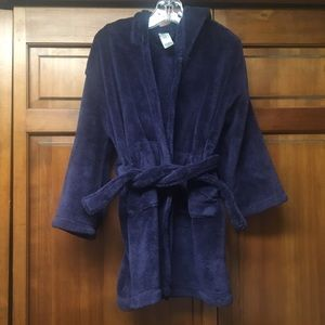 GAP kids fleece, hooded robe